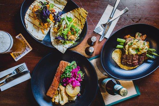 Scarborough, Australia: Pork Steak, Salmon, and Tacos