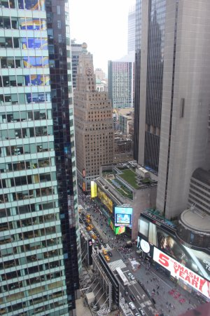 View from 34th floor picture of doubletree suites by for 1515 broadway 11th floor new york ny 10036