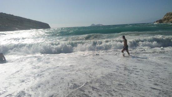 Matala beach: beach - 3