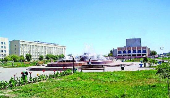 Kyzylorda, كازاخستان: Красота
