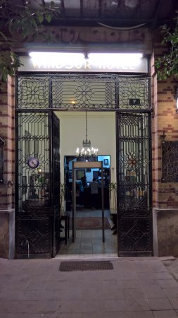 Windsor Hotel Cairo: Windsor Hotel entrance gate