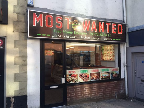 Most Wanted Preston Menu Prices Restaurant Reviews
