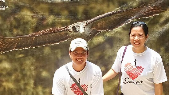 Davao City, Filippijnen: save the eagles
