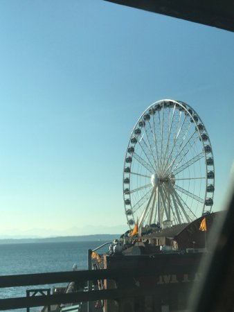 Seattle Great Wheel Pier 57 Picture Of