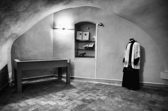 Serre di Rapolano, Ιταλία: Sala sugli usi dell'olio