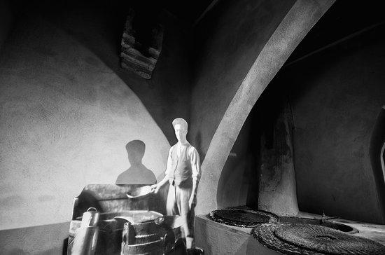 Museo dell'Antica Grancia e dell'Olio : Frantoio (dettaglio)