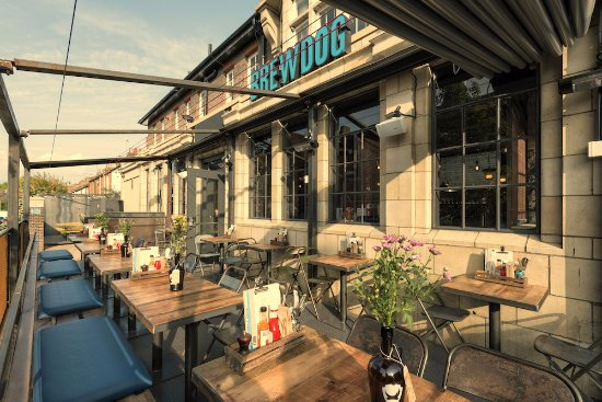 BrewDog Oxford: Enjoy a beery treat in our amazing beer garden!