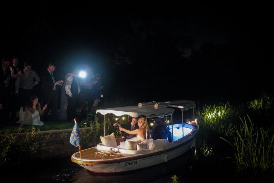 Godmanchester, UK: Boat get away