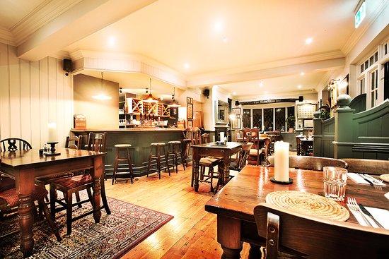 Mark Cross, UK: The bar area