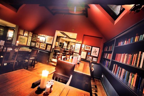 Mark Cross, UK: Newly rennovated dining area