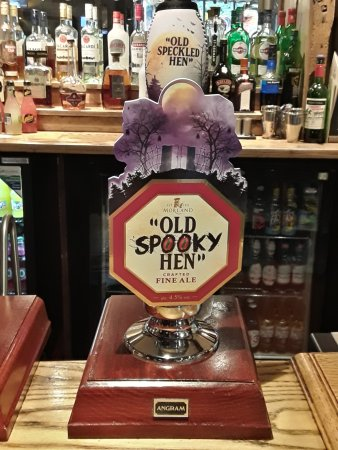 Wateringbury, UK: Halloween ale