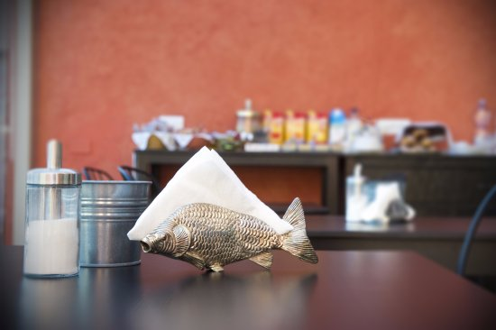 Casanise: Sala comune/colazioni