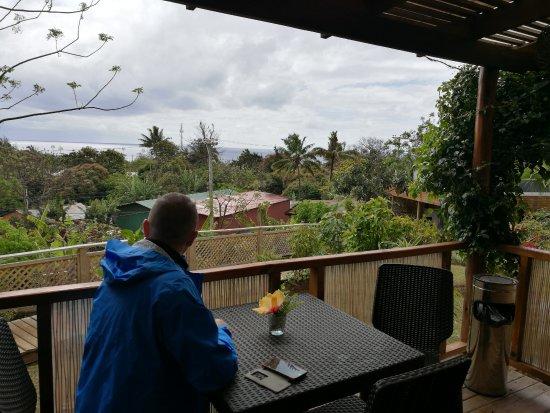 Vistas Desde El Comedor Picture Of Easter Island Eco Lodge Hanga