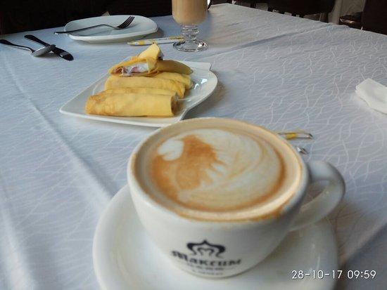 Maxim Cafe: Ресторан Максим