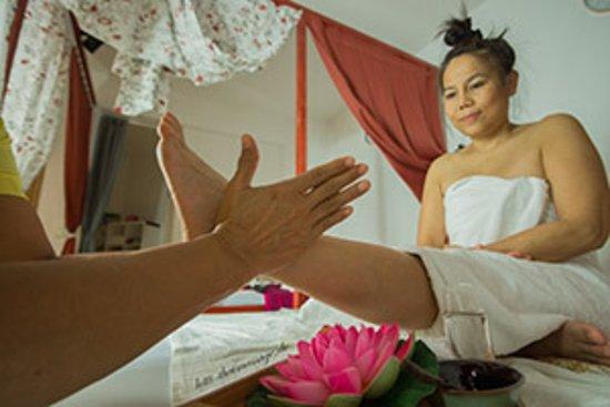 Seelze, เยอรมนี: Fuß Reflexzonen Massage