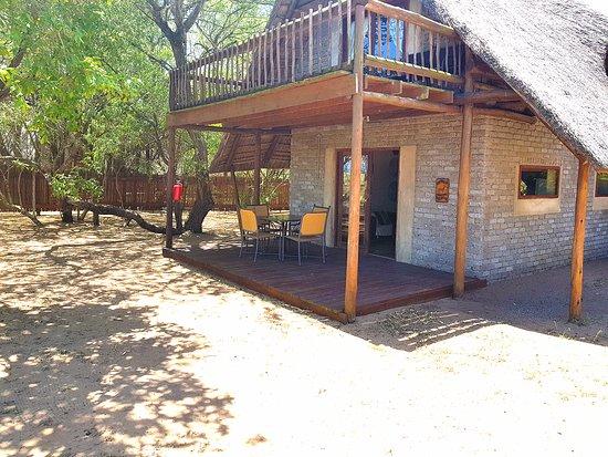 Amorello Safari Park: Chalet Patio