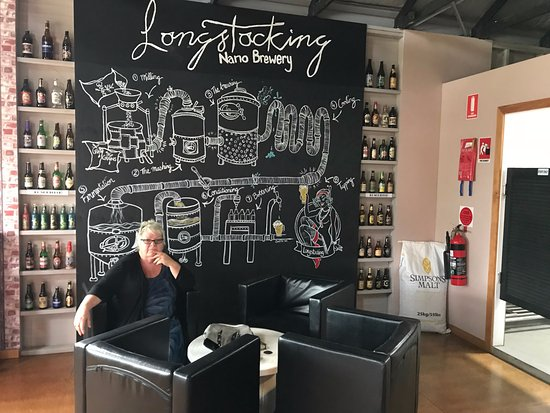 Pambula, Australia: The Longstocking Brewery System