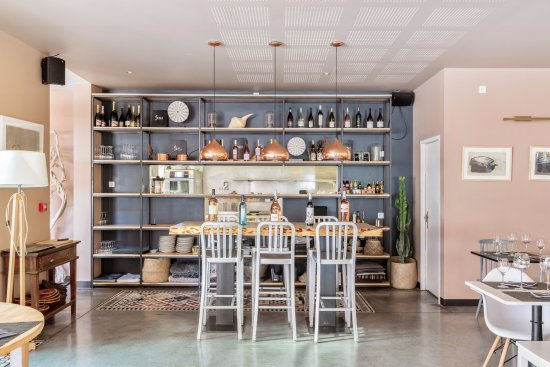 Foto de restaurant gaia narbonne cuisine ouverte for Cuisine ouverte restaurant norme