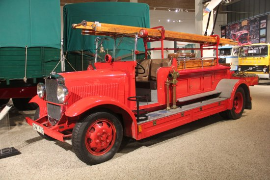 Volvo Museum : old fire truck