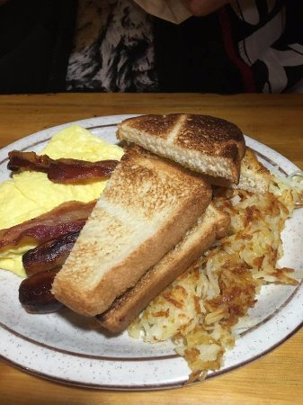 West Branch, MI: Egg, Bacon and Sausage Breakfast