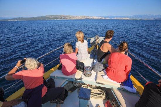 Punat, Croatia: Titanic spot on the boat.