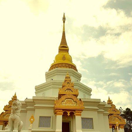 ดอยแม่สลอง: Temple in the mountains