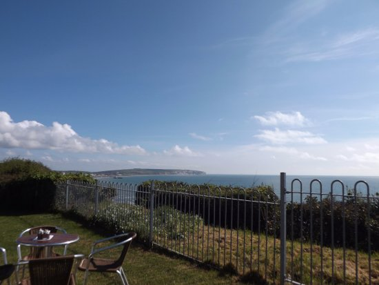 The stunning view whilst visiting Blueberrys