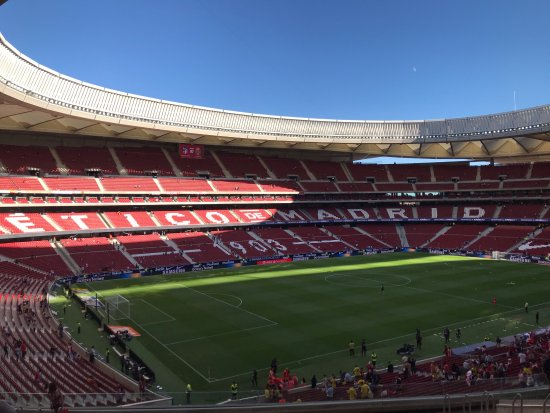 Atletico Madrid Stadium Tour Review