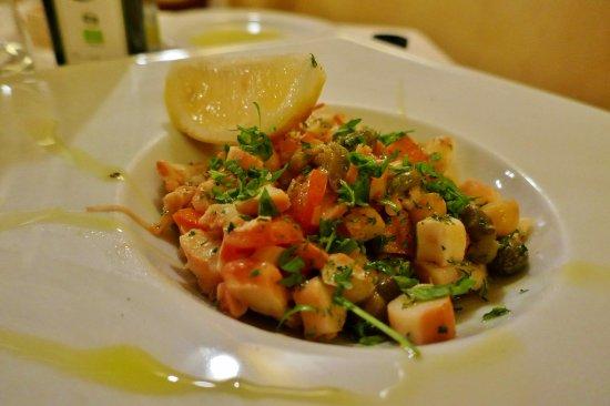 Santa Croce: Pulpo-Salat