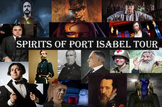 Port Isabel, TX: Ghosts, Gangsters, and More.............