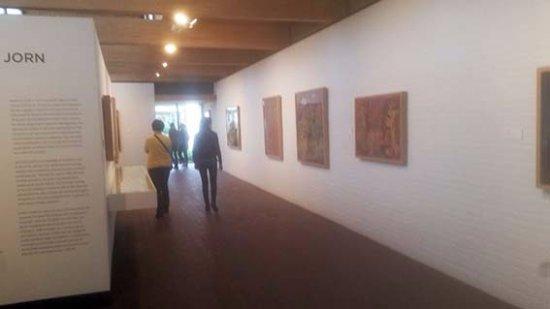 Pa museum fotoutstallning