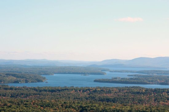 Moultonborough, NH: view from the top