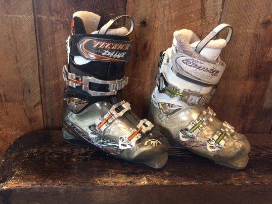 North Troy, VT: Super comfortable Tecnica & Dalbello boots.