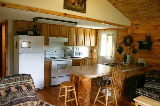 Interior - Picture of Bee Cliff Cabins, Elizabethton - Tripadvisor