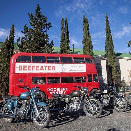 Royal Enfield Bike Tours & Rentals: At Matjiesfontein, Western Cape