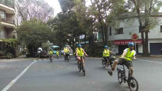 CDMX Electric Bike Tours