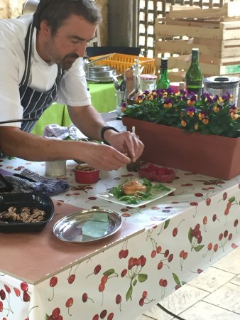 Saint-Cyprien, Francia: Cookery class