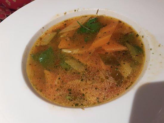 Backmulde - Gasthaus - Hotel: Vegetable soup
