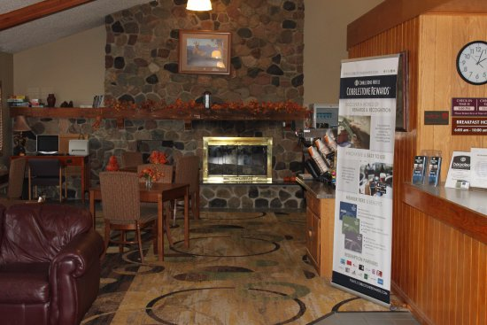 Boarders Inn and Suites Ripon, WI: Become a Cobblestone Rewards member and begin earning points during all of your stays!
