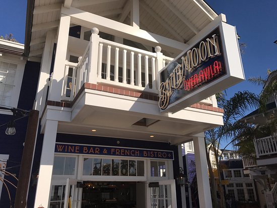 The entrance of Blue Moon, located in beautiful Avila Beach.