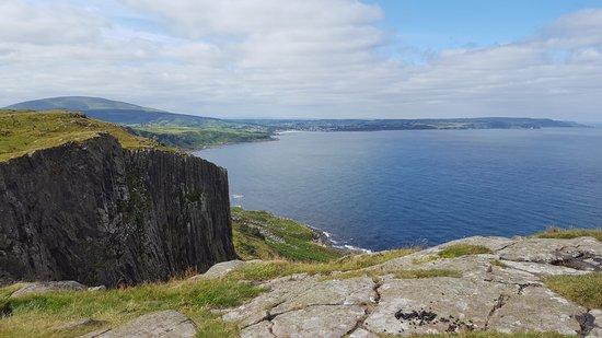 Fair Head looking back towards Ballycastle