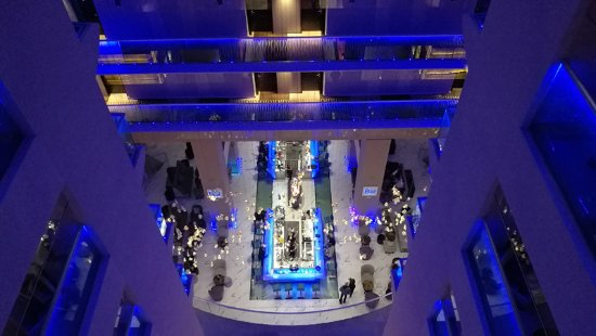 Radisson Blu Hotel Bucharest: hall dai piani
