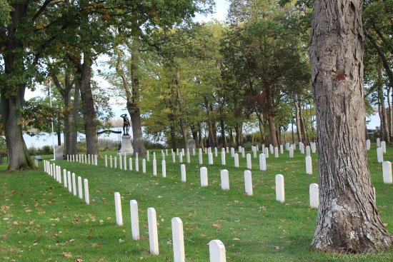 Marblehead, OH: Johnson Island, Ohio, Confederate Soldier Prison and Cemetery site.