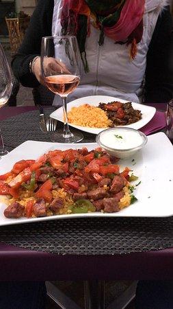 Assiette de boeuf photo de la maison turque rouen for Site cuisine turque