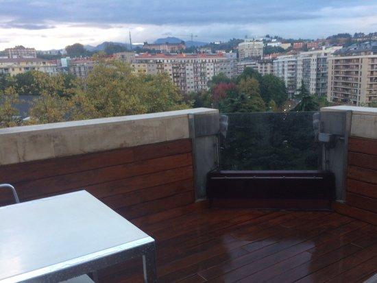 Silken Amara Plaza Hotel : Terraza hab 608