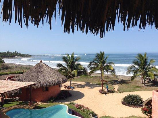 La Saladita, Μεξικό: View from the Master Bedroom of a Villa