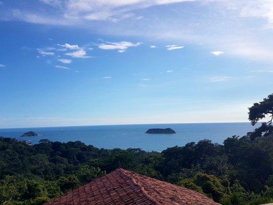Hotel Si Como No: la vista del área de la piscina y el restaurante