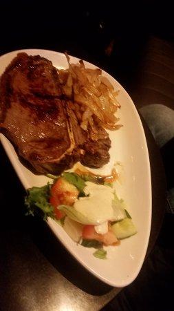 Kells, Ireland: T-Bone steak
