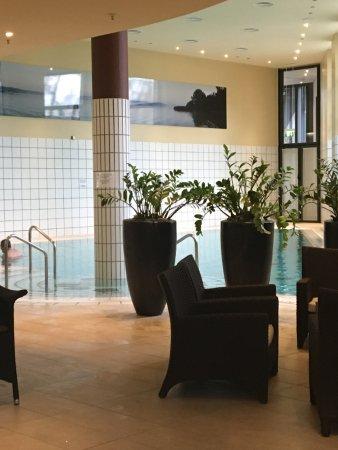 Sheraton Berlin Grand Hotel Esplanade : Indoor pool