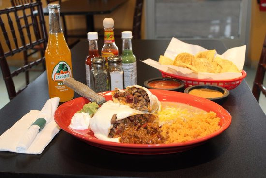 Ripon, WI: Burrito!